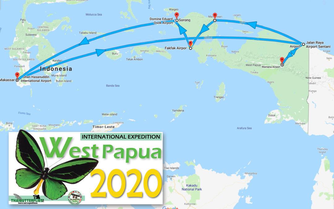 TRIP: WEST PAPUA 2020